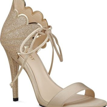 Nine West 'Carly' Ankle Tie Sandal (Women) | Nordstrom