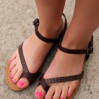 Around the World Sandal