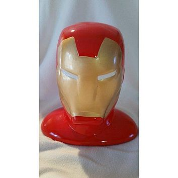 Ironman Ceramic Money Piggy Bank
