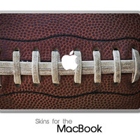 "Football Lace Skin for the MacBook 11"", 13"" or 15"""