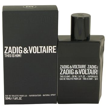 This is Him by Zadig & Voltaire Eau De Toilette Spray 1.6 oz