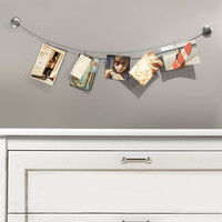 Nickel Photoline Clip Frame