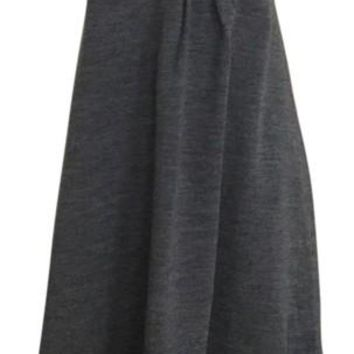NWT J.Crew Strapless Wool Dress, Dark Gray, Size 6