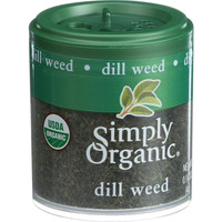 Simply Organic Dill Weed - Organic - .14 Oz - Case Of 6