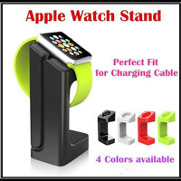 E7 stand Holder For Apple Watch Magnetic Charge Dock Charge Stander For iWatch Rechargeable Stand Holders For iPhone Watch