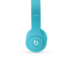 Matte Light Blue Headphones | NewBeats Solo HD with Built-In Mic