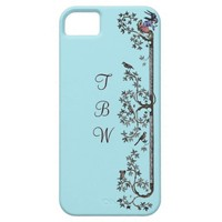 Medieval Birds and Leaves iPhone 5 Cases
