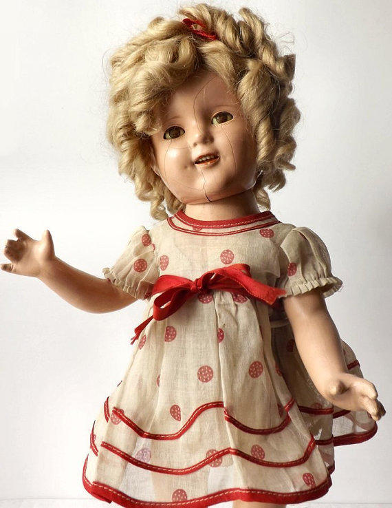 1930s Ideal Shirley Temple 17 From Moms