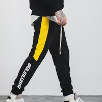 DL Side Stripe Men Vintage Sweatpant