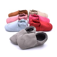 Baby Shoes For Boy Girls Kids Nubuck Baby Moccasins Newborns Infantil Shoes Soft Shoes Sneakers First Walkers Autumn Boots
