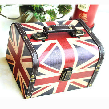 Engliand Flag England Style Storage Decoration Accessory Box [6282989062]