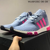 Adidas 2018 NMD stretch woven casual sneakers F-CSXY sky blue