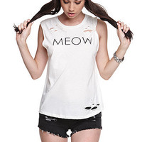 Nollie Meow Muscle Tee at PacSun.com