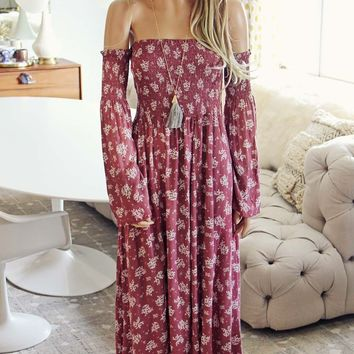 Sophie Maxi Dress in Pink
