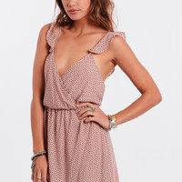 Hold Your Tongue Printed Dress