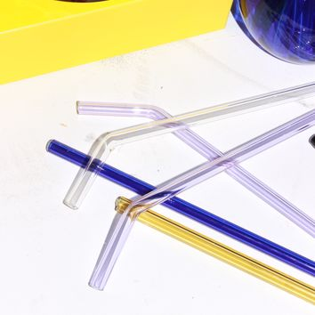 Handmade Glass Straws - Single