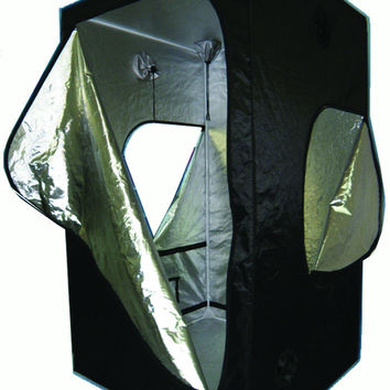 "Grow Tent 48"" X 24"" X 60"" Sliver-lined/ Oxford outer Metal Frame"