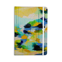 "Ebi Emporium ""Journey to Paradise"" Yellow Aqua Everything Notebook"
