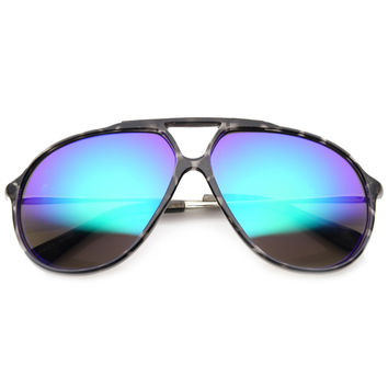 RENO RETRO AVIATOR SUNGLASSES