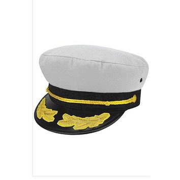 The Captain Hat in White