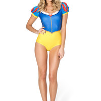 Snow White Puff Sleeve Suit