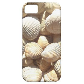 Sea Shells, Summer Beach Exotic Tropical Romantic iPhone SE/5/5s Case
