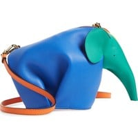 Loewe Mini Elephant Rainbow Calfskin Crossbody Bag | Nordstrom
