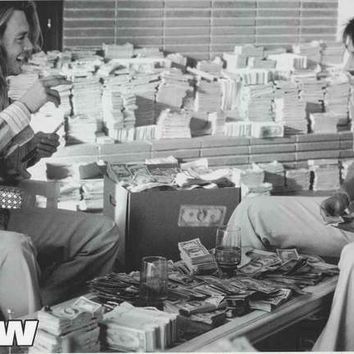 Blow Piles of Cash Movie Poster 24x36