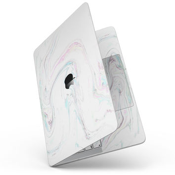 "Mixtured Textured Marble v10 - 13"" MacBook Pro without Touch Bar Skin Kit"