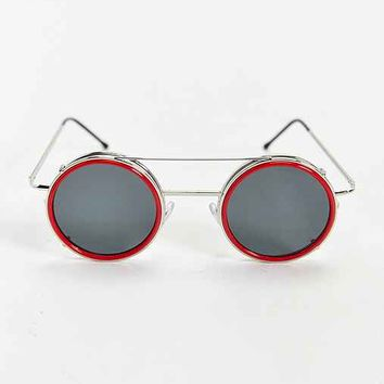 Spitfire Sonic Clip-On Round Sunglasses-