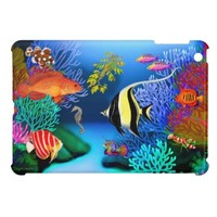 Pacific Coral Reef Fish iPad Mini Case