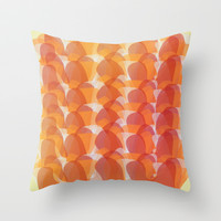 Jelly Wobble Stripiness!  Throw Pillow by RunnyCustard Illustration
