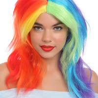 My Little Pony Rainbow Dash Wig | Hot Topic