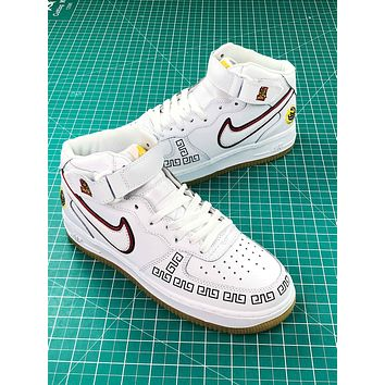 Nike Air Force 1 Mid Cny Sneakers Shoes - Sale
