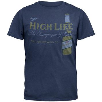 Miller High Life - Retro Bottle Soft T-Shirt