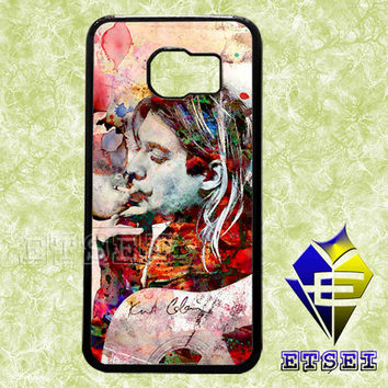 Kurt Cobain Art 78678 case For Samsung Galaxy S3/S4/S5/S6 Regular/S6 Edge and Samsung Note 3/Note 4 case