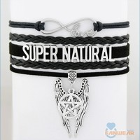 SUPERNATURAL Castiel's Wings Bracelet