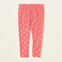 baby girl - bottoms - dot leggings - full length | Children's Clothing | Kids Clothes | The Children's Place