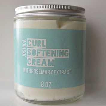 Rosemary Grapefruit Lime Curl Softening Cream- Natural Hair Care- Kinky-Curly Coily Hair- Whipped Hair Cream- Type 3/ Type 4 Hair- Vegan