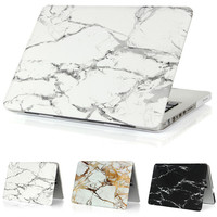Marble Matte crystal Case For Apple Macbook Air 13 Case Air 11 Pro 13 Retina 12 13 15 Laptop Bag for Mac Book pro 13 case