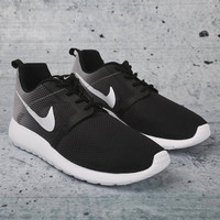 Nike Roshe One Flight Weight (GS)Black With Swarovski Crysral Rhinestones - Bling Nikes, Bling Shoes, Blinged Out Nikes