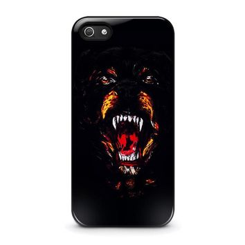 givenchy rottweiler iphone 5 5s se case cover  number 1