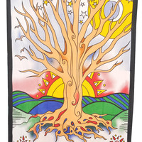 Tree of life 100% Cotton Bed cover, Tapestry ,Bed Sheet, Throw, Wall Hanging, Hippie Wall Hanging, Wall Decorative Art
