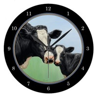 Holstein Cow and Calf Clocks