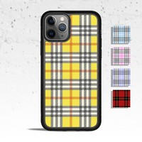 Plaid Phone Case for Apple iPhone