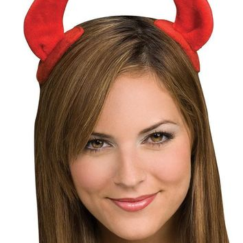 Devil Horns On Clips for Halloween