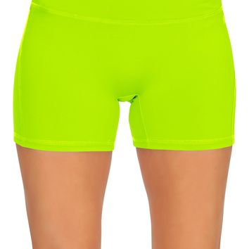 Womens Active Workout Running Shorts Pants