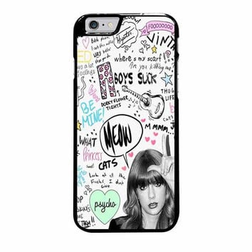 taylor swift collage art love iphone 6 plus 6s plus 4 4s 5 5s 5c 6 6s cases