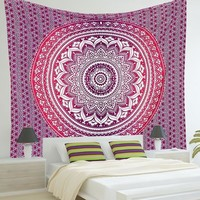 2017 Indian Mandala Tapestry Print Tapestry
