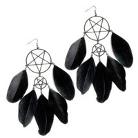 Killstar | Dreamcatcher Earrings - Tragic Beautiful buy online from Australia